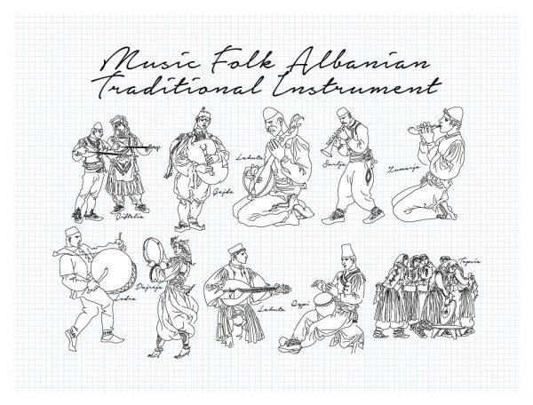 Albanian folks Collection